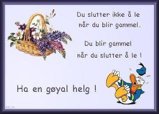4b8c9f41 God helg til alle sammen. | Den Norske Klubben La Manga