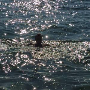 Bading i Mar Menor mars 2015